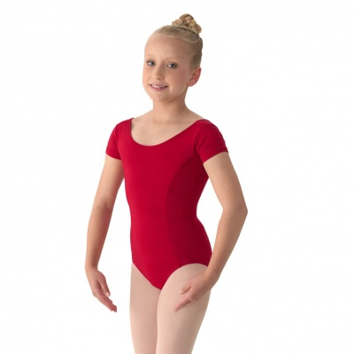 Mirella Girls Cap Sleeve Leotard
