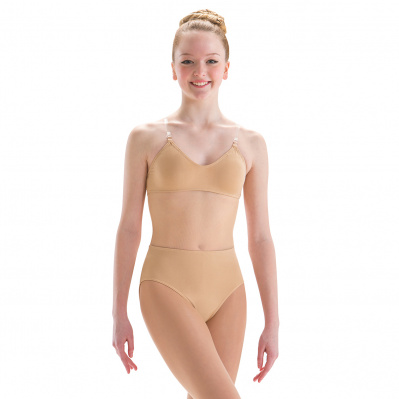 Motionwear Adult Illusion Leotard With Mesh Midriff