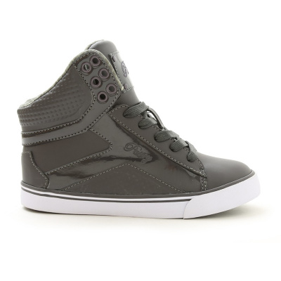 Pastry Pop Tart Grid Adult Dance Sneakers - Charcoal