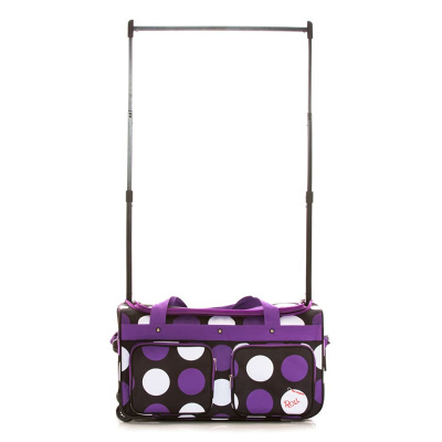 Rac n Roll Purple Polka Dots Dance Bag 2.0 - Medium