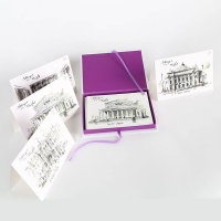 Russian Pointe Stages of the World Note Cards