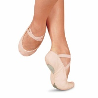 Sansha Pro 1C Canvas Split Sole Ballet Shoes - Pink