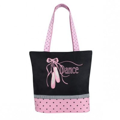 Sassi Pointe Shoes n Ribbon Tote Bag