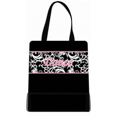 Sassi Damask Dance Tote Bag