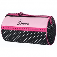 Sassi Polka-Dot Dance Duffel Bag