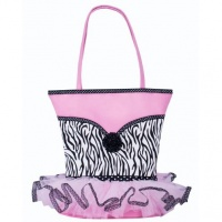 Sassi Tutu Bag with Zebra Print