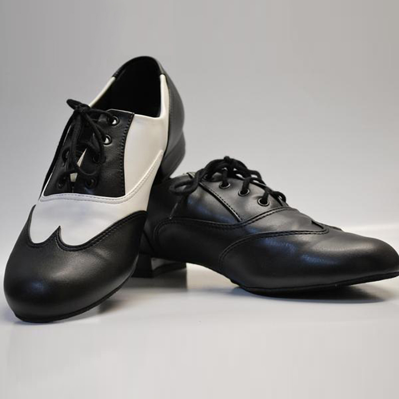 So Danca Adult Classic Oxford Jazz Shoe Black And White
