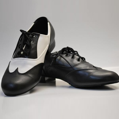 So Danca Adult Classic Oxford Jazz Shoe - Black and White