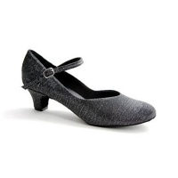 So Danca 1.5 Heel Glitter Ballroom Shoes - Black