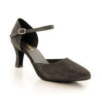 So Danca 2.5 Heel Glitter Ballroom Shoes - Black