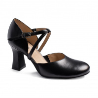 So Danca Charity 2.5 Heel Character Shoes - Black