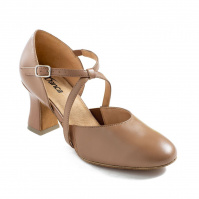 So Danca Charity 2.5 Heel Character Shoes - Caramel