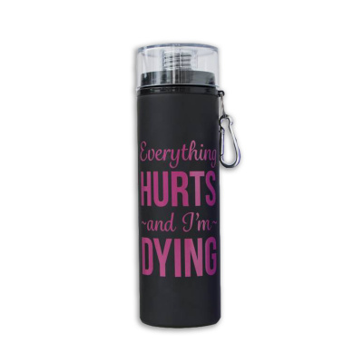 Suffolk Everything Hurts Water Bottle