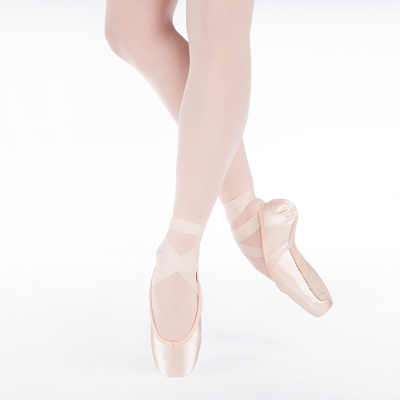 Suffolk Spotlight Pointe Shoes - Pink