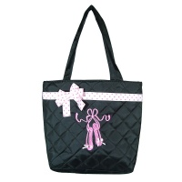 TYVM Black Tote Bag